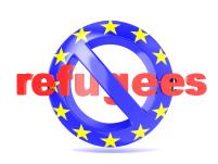 No Refugee Sign