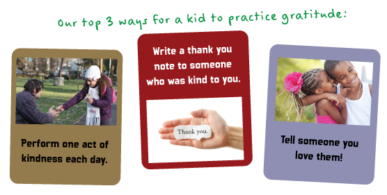 Top 3 Way to practice gratitude