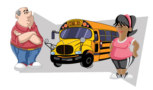 Bus Dirver Learn and Play the Safe Way!