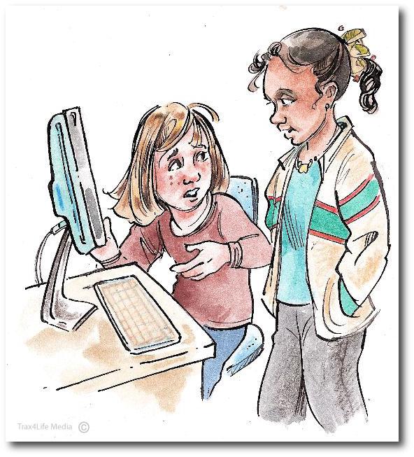 Internet safety Girls