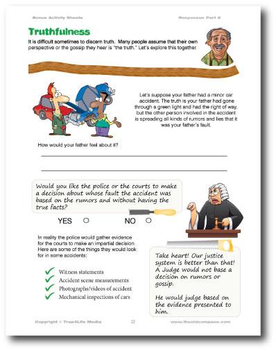 Responsus Educational Sheet