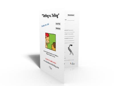 Tattling vs Telling Lesson Plan 123