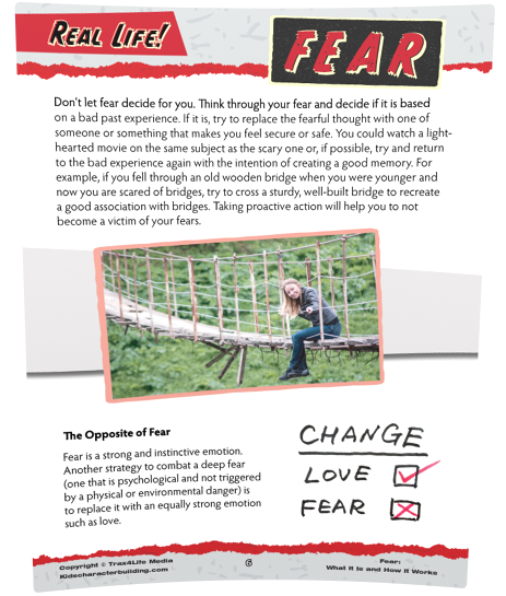 Fear Article for Kids